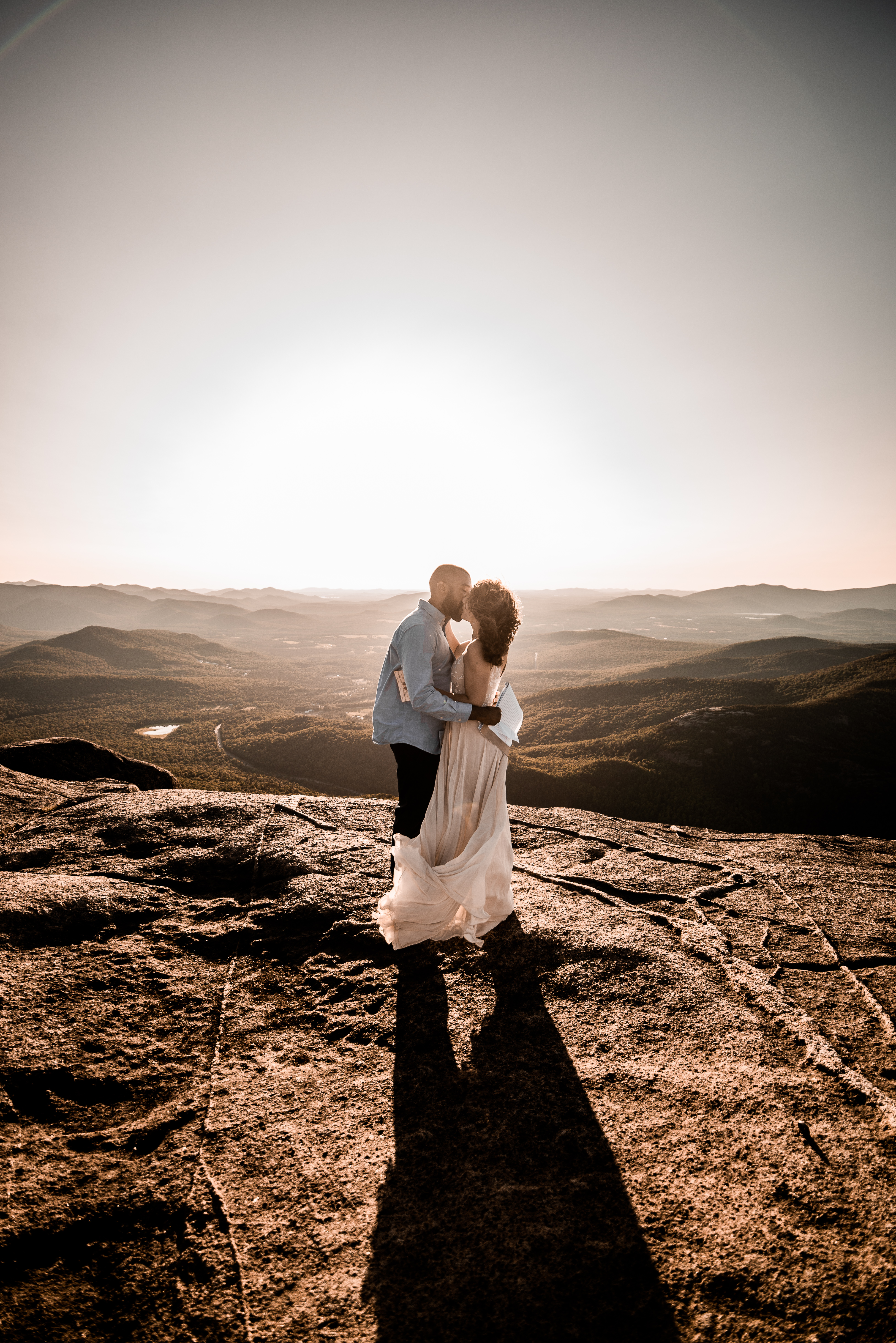 Elopement on Cascade Mountain in the ADKs of upstate NY